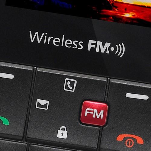 CELULAR GS107 PRETO COM VERMELHO RÁDIO FM VIVA-VOZ E FONE - LG