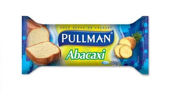 BOLO DE ABACAXI 250G - PULLMAN
