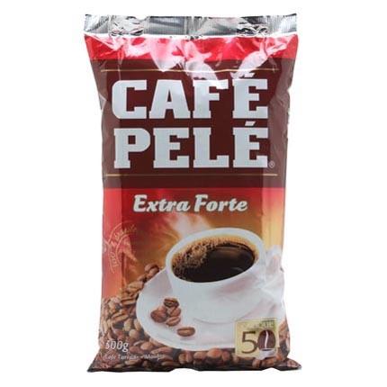 CAFÉ ALMOFADA TORRADO E MOÍDO EXTRA FORTE 500G - PELÉ
