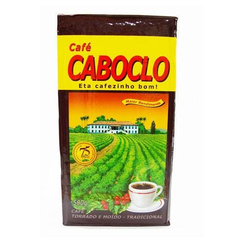 CAFÉ ALMOFADA TORRADO E MOÍDO 500G - CABOCLO