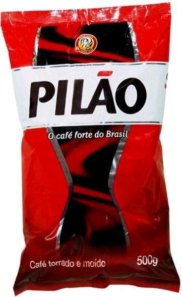 CAFÉ ALMOFADA TORRADO E MOÍDO 500G - PILÃO