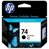 CARTUCHO DE TINTA 74 CB335WB PRETO 4.5ML - HP