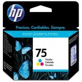 CARTUCHO DE TINTA 75 CB337WB COLORIDO 3.5ML - HP