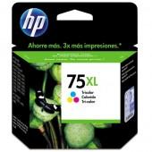 CARTUCHO DE TINTA 75XL CB338WB COLORIDO 12ML - HP