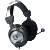 HEADPHONE FONE+MICROFONE GAMER RAPTOR MI-2870RS  - C3 TECH